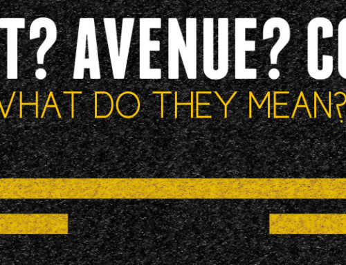 Street, Avenue, Court, What do they all mean?